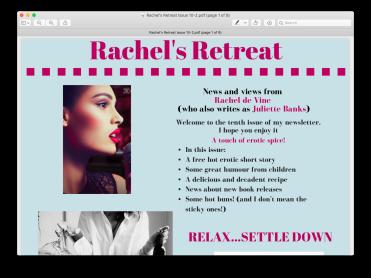 Rachel's Return 10th