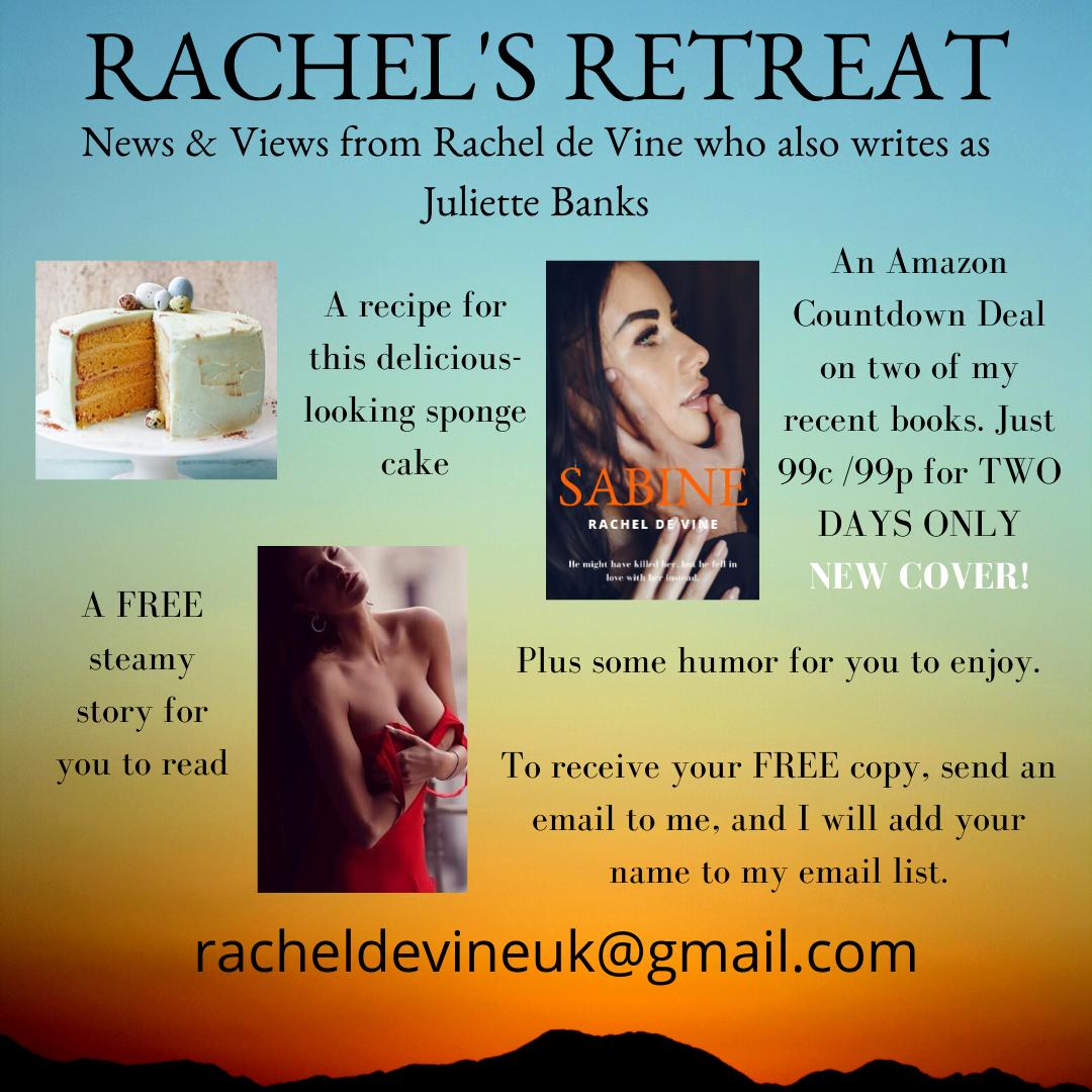 RACHEL'S RETREAT PROMO March 2020-2